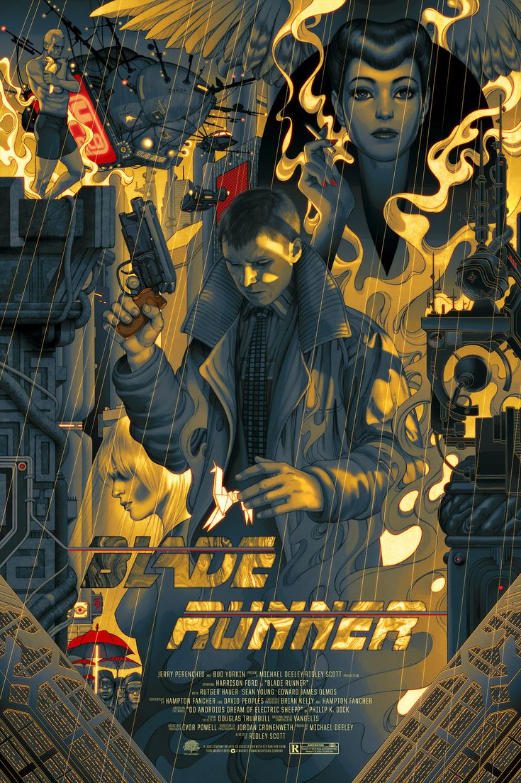 Blade Runner by James Jean /
