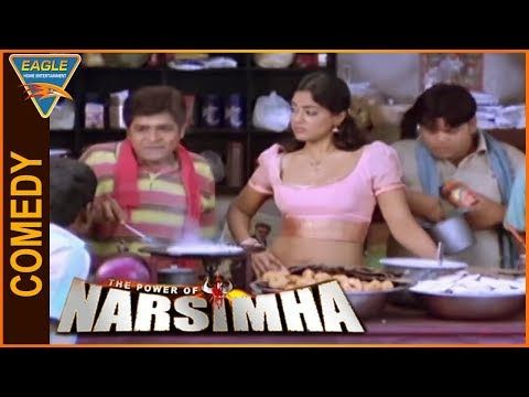 The Power Of Narsimha Hindi Dubbed Movie || Ali And Sameera Reddy Funny Comedy || Eagle Hindi Movies