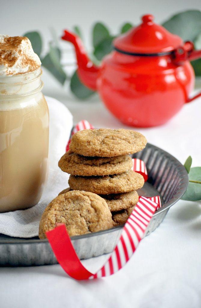 Elodie's Bakery: Gingerbread latte and chewy ginger cookies | Lait épicé et cookies moelleux aux épices