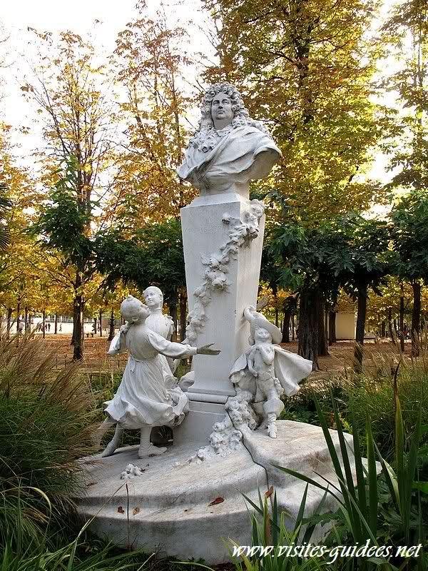 Charles Perrault et le Chat Botté Jardin des Tuileries Paris