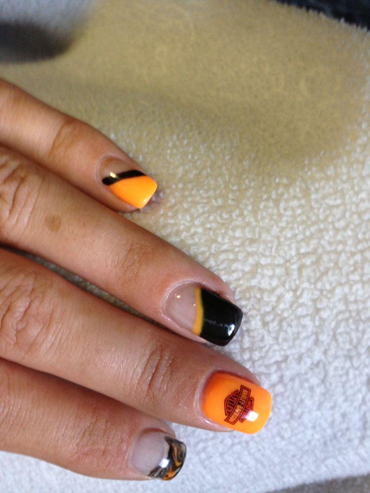 Harley Davidson nails!