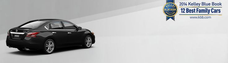 2015 Nissan Altima® in Black side view