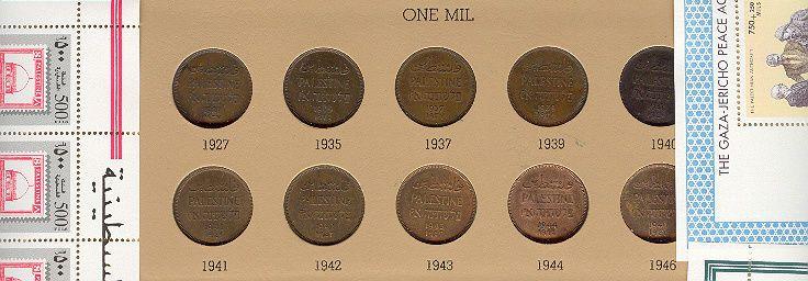 PALESTINE British Mandate 59 Coins 1927-1946 FINEST COLLECTION ON EBAY