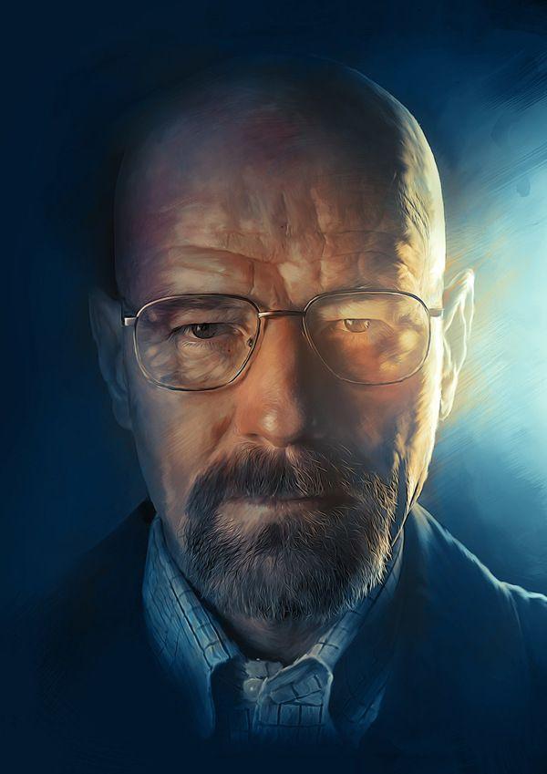 Epic Breaking Bad Art #heisenberg