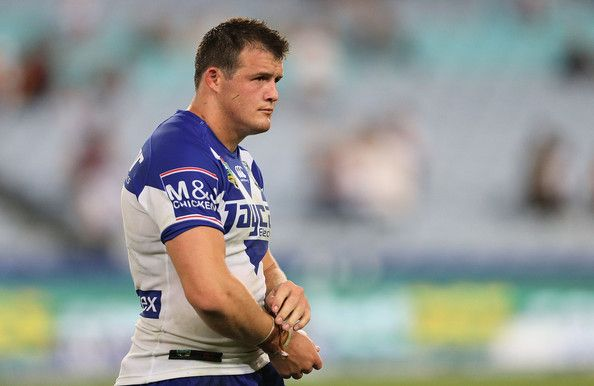 Josh Morris Dejected Bulldogs player Josh Morris leaves the field after the round one NRL match between the Canterbury-Bankstown Bulldogs an...