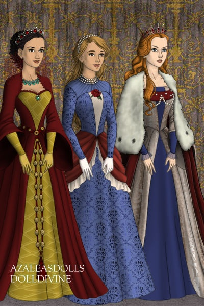 Lady Stark, Lady Rogers and Lady Thor - Doll Divine Dress Up Games