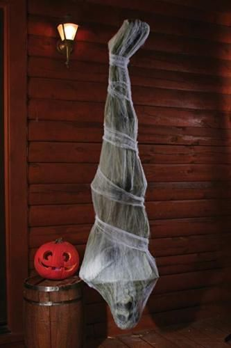 Hanging Cocoon Corpse 72 inch For Halloween Yard Decoration Scary