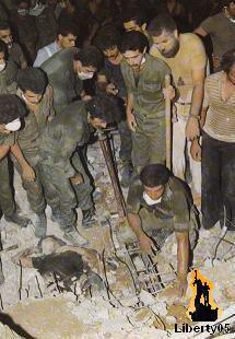 Lebanese Civil War 1982, Bachir Gemayel assassination 14 September 1982