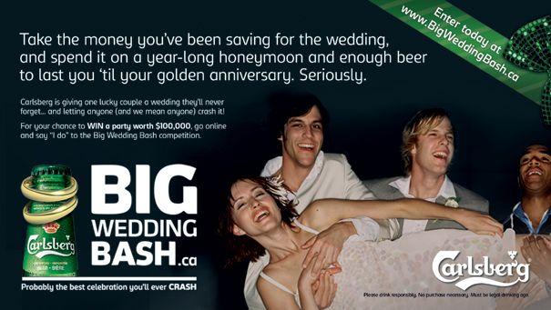 Carlsberg throwing big wedding for lucky fans | Marketing Magazine