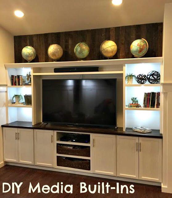 25 best ideas about built in entertainment center on Built in Bookshelves Living Room Shelves