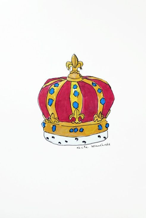 Studio Crown, Drawing by Akvile Lesauskaite on Artfinder. Discover thousands of other original paintings, prints, sculptures and photography from independent artists.