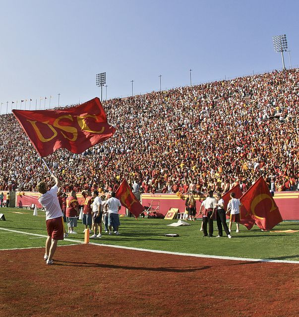 U - S - C!!  University of Southern California