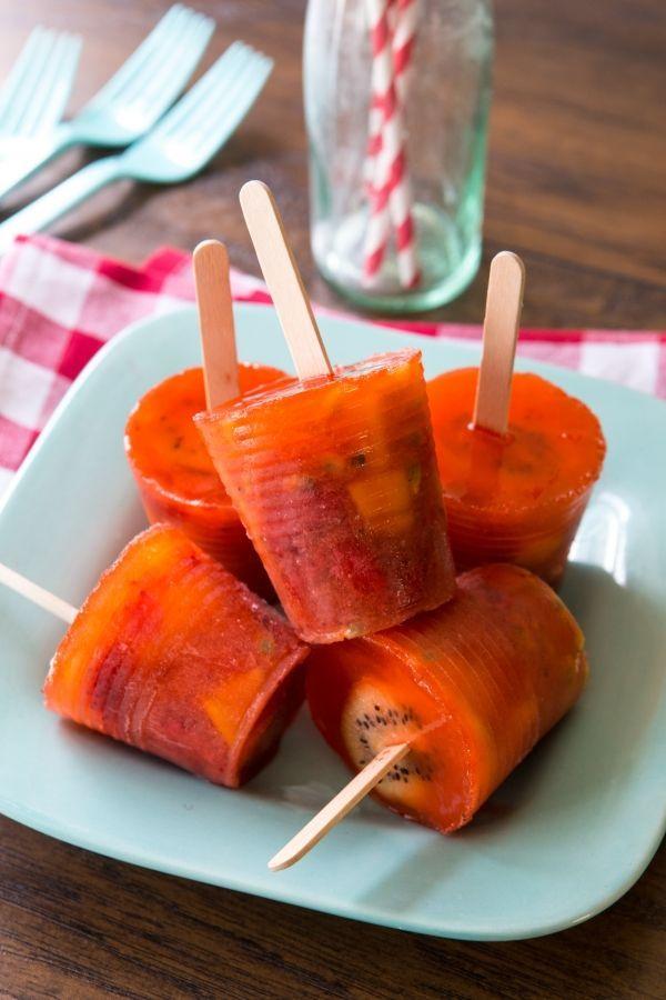 how to make fruit pops