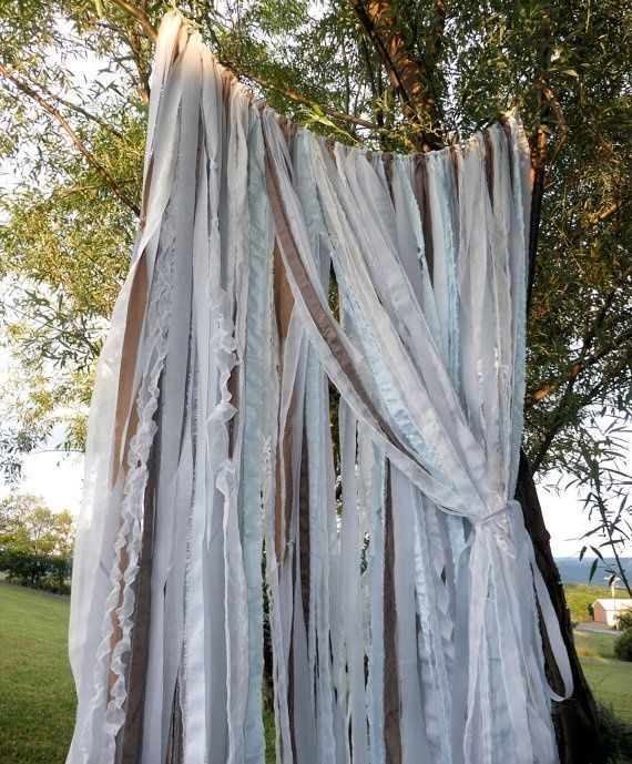 outdoor wedding backdrops | Wedding Backdrop Garland Garden Wedding Outdoor Wedding Whimsical ...