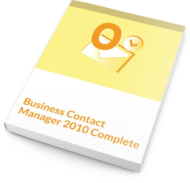 Our one-level Microsoft Business Contact Manager 2010 training courseware and accompanying material includes all the information that students need to hit the ground running with this business management application.
