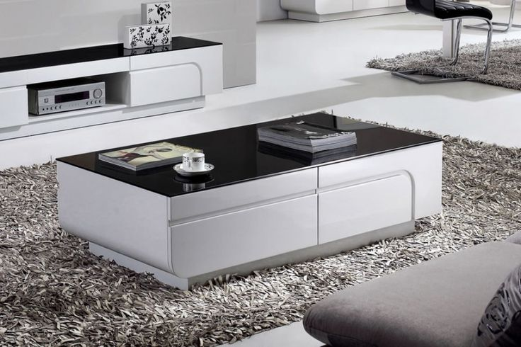 Oblique  M High Gloss Coffee Table With  Drawers Living Room Pinterest White Gloss Coffee Table High Gloss And Drawers