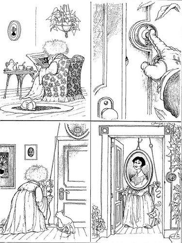 cartoon by Argentine cartoonist Joaquín Salvador Lavado, better known by his pen name Quino