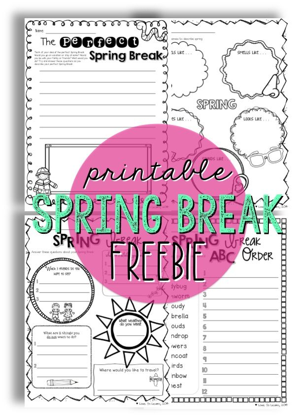 spring break essay in spanish Freebie spring break writing a personal narrative journal and writing resource smart starters for essays online essay in spanish about vacation do.