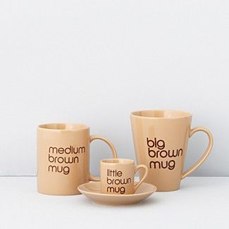 Bloomingdale's Brown Mugs | Bloomingdale's