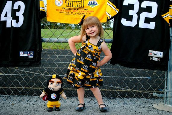 Pittsburgh Steelers Dress Pittsburgh Steelers by TheLittleJoyShop, $43.99