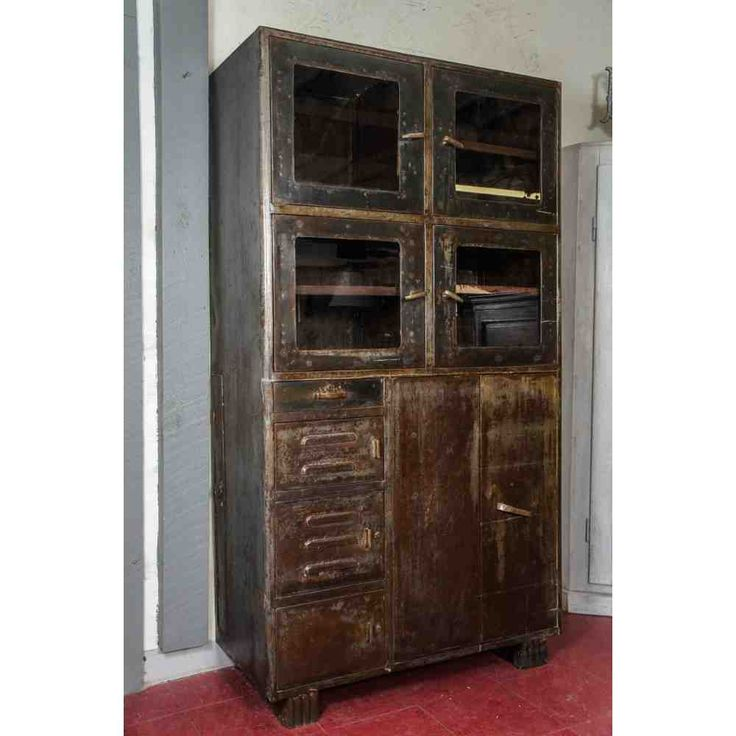 Lovely Wrought Iron Storage Cabinets
