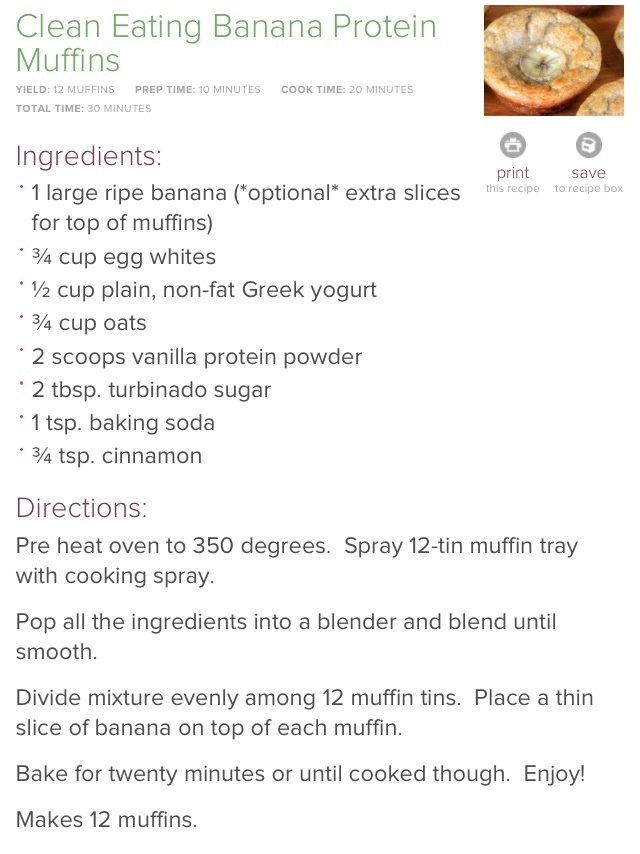 "Banana Bread Protein Muffins | The ""Skinny"" of it.. 