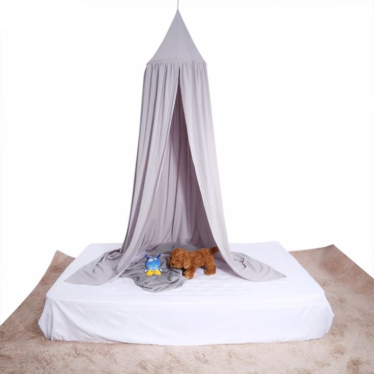 Cheap canopy bed curtains, Buy Quality bed curtain directly from China mosquito net curtains Suppliers: Kid Bed Canopy Bed Curtain Round Dome Hanging Mosquito Net Curtain Moustiquaire Zanzariera For Baby Kids Playing Home Klamboe