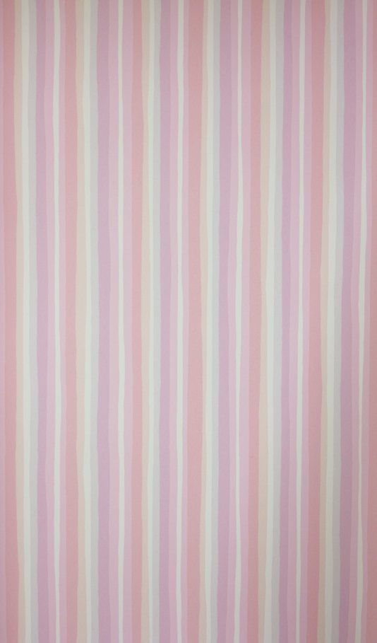 Samuel Pink Stripe Wallpaper | Sandberg
