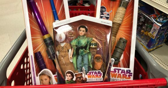 Grab a few Star Wars Forces of Destiny Toys as last minute gifts for under the tree!