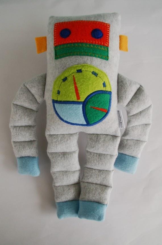 coolest robot stuffies