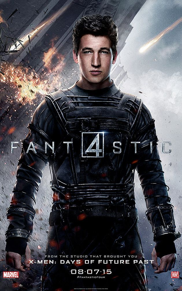 """New """"Fantastic Four"""" character posters by Anthony Ibarra   Excited for the new Fantastic Four film? Well, some new characters posters surfaced on the web which show off the individual characters. Miles Teller, Kate Mara, Michael B. Jordan, and Jamie Bell portray Reed Richards, Sue Storm, Johnny Storm, and Ben Grimm, respectively.   [caption id=""""attachment..."""