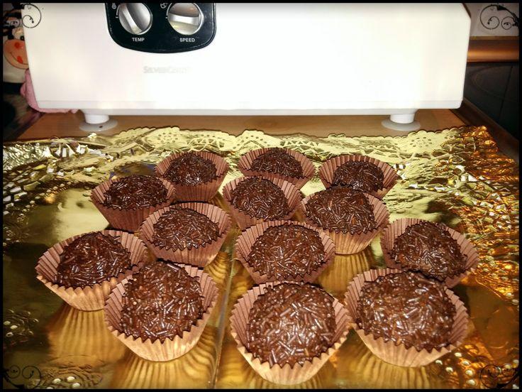 Trufas de Chocolate - Monsieur Cuisine
