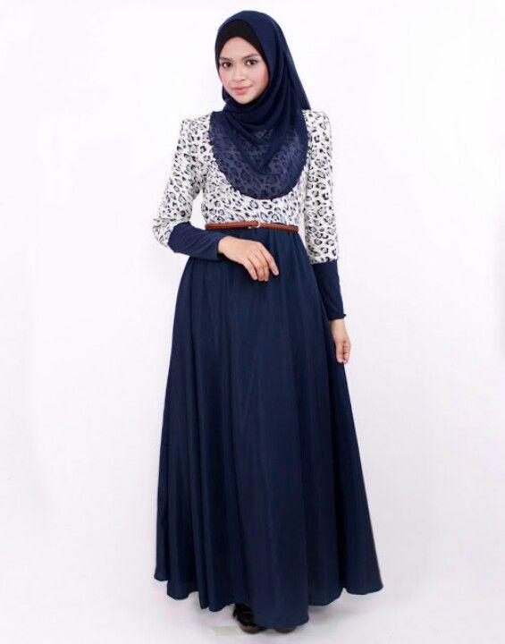 maxi dress idea - leopard style