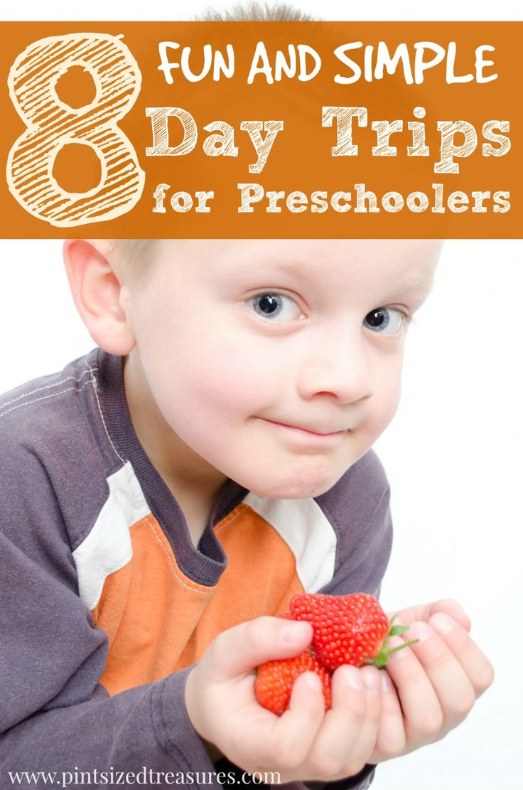 Think summer fun is only for BIG kids? Think again! Here are 8 fun and simple #daytrips for your #preschooler! Have loads of #summer fun!
