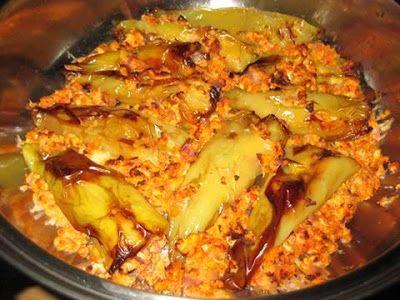 Γεμιστές πιπεριές με καγιανά στο φούρνο !!! ~ ΜΑΓΕΙΡΙΚΗ ΚΑΙ ΣΥΝΤΑΓΕΣ
