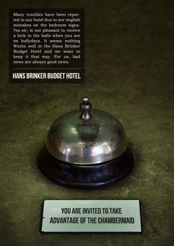 This is a follow up idea for the worst hotel in the world. The Hans Brinker budget hotel in Amsterdam for young people with little money on ...