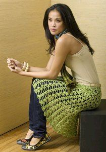 crochet skirt - free pattern! <3 Me encanta la falta....