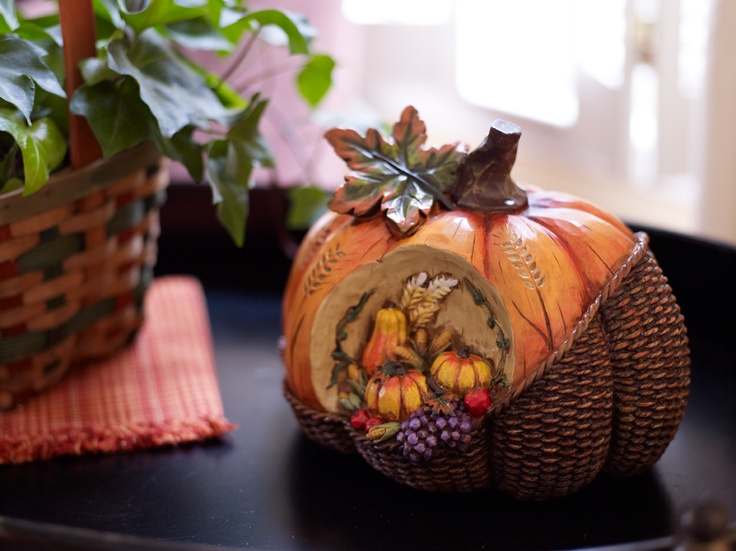 A rich warm look  Home  Pinterest  As and Warm ~ 115403_Qvc Thanksgiving Decorations
