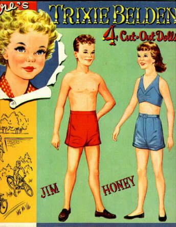 137 Best Vintage Paper Dolls Images On Pinterest | Vintage Paper