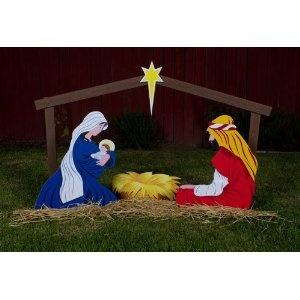 Outdoor Nativity Scene - Holy Family  ASIN: B0041LGS32 Outdoor nativity store
