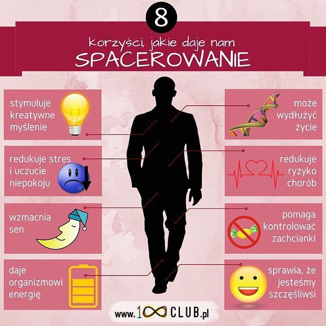 8️⃣ korzyści ze spacerowania! 🚶🏼 #100club #clubhunderd #100 #infographic #quote #amazing  #cytaty #info #zdrowie #lifestyle #health #fit #gym #food #photooftheday #fitlife #follow #body #running #yoga #sex #fitness #news #family #beauty #sport #maternity #travel
