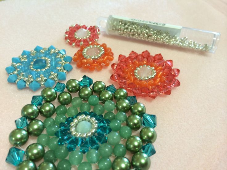 Working on a Swarovski project.   http://www.thebead.co.uk/acatalog/Jewellery_Making_Classes_Glasgow.html