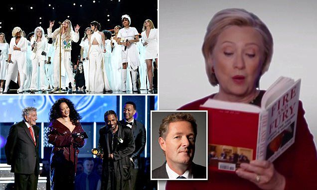 PIERS: The winner of sexist, misogynist hypocrite is.. the Grammys!
