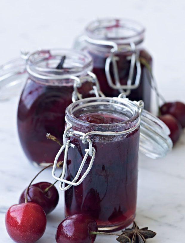 Kirsebærmarmelade med anis og ingefær | Femina