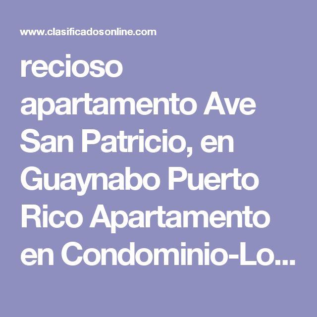 recioso apartamento Ave San Patricio, en Guaynabo Puerto Rico Apartamento en Condominio-Los Caobos de 2 Cuartos y 2 Baños Clasificado:  4037352 ¡Consejos Arquitecta!  5 Foto(s), Ampliar  Cuartos 2, Baños 2,     Condominio-Los Caobos, Guaynabo $149,000 OMO       Nydia E. Santiago Lic 16130 NES Real Estate (787) 502-1542     Agregar a Favoritos      Ver listado de Vendedor Evite el Fraude (Consejos) Haga negocios localmente y en persona Si un anuncio parece demasiado bueno, probablemente es…