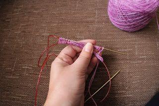 Anette L syr och skapar: Sockor på rundsticka