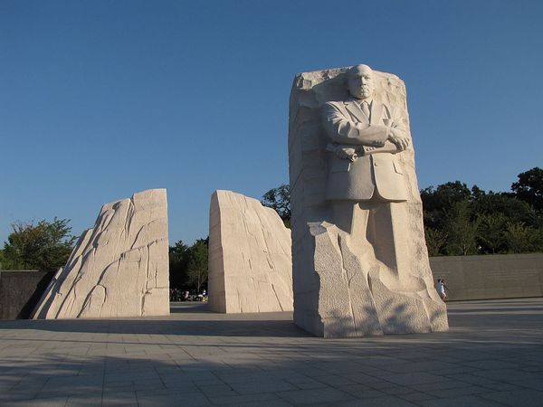 Learn about free summer movies screened at Films at the Stone, the outdoor film festival at the Martin Luther King Memorial in Washington DC