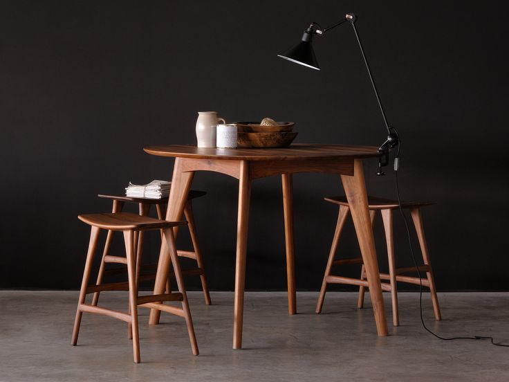 With its rounded edges, the Ethnicraft   Osso dining table adds a warm and original touch to your room... #dining