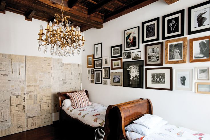 Glamourous and rustic.