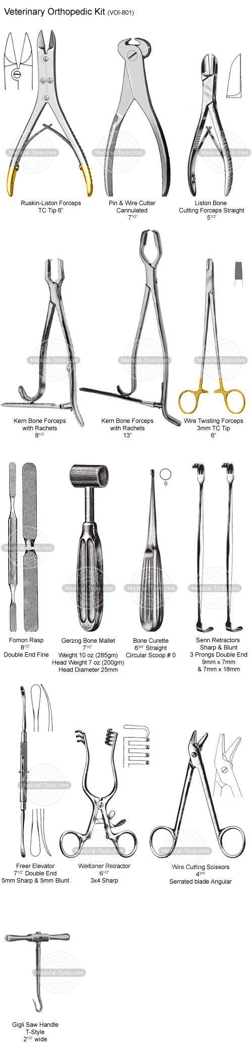 Veterinary Orthopedic Kit -Veterinary Instruments - Medical Tools Shop